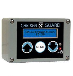 Kippenhokopener met timer en lichtsensor