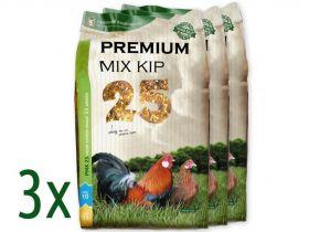 Kippenvoer Premium Mix drie zakken